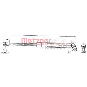 METZGER  2110376 Heckklappendämpfer / Gasfeder Länge: 334mm, Hub: 100mm