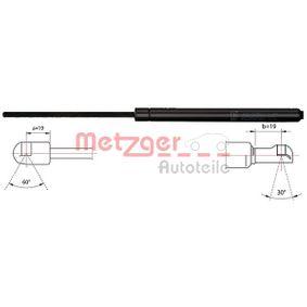 Heckklappendämpfer / Gasfeder Länge: 445mm, Hub: 183mm mit OEM-Nummer 68960-09100