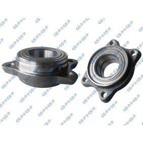 Wheel Bearing Kit Inner Diameter: 45mm with OEM Number 8E0.498.625B