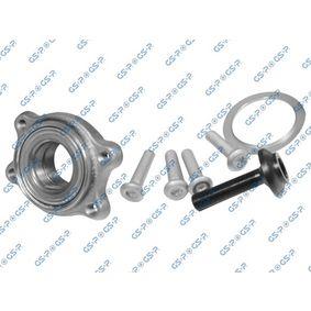 Radlagersatz Innendurchmesser: 47mm mit OEM-Nummer 4F0 598 625 A