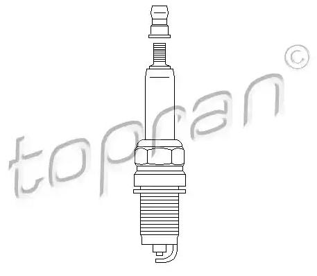 Spark Plug 112 188 TOPRAN F7HER2 original quality