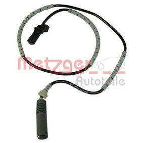 Sensor, Raddrehzahl Länge: 955mm mit OEM-Nummer 34526760425
