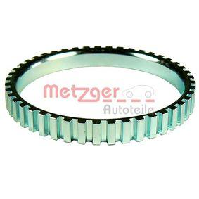 METZGER Sensorring, ABS 0900358 für AUDI 100 (44, 44Q, C3) 1.8 ab Baujahr 02.1986, 88 PS