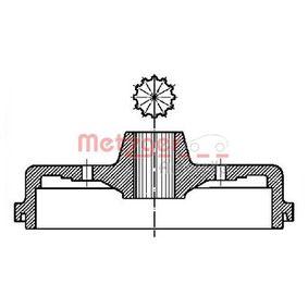 Bremstrommel Trommel-Ø: 230mm mit OEM-Nummer 113 501 615 J