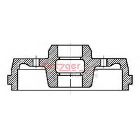 Bremstrommel Trommel-Ø: 230mm mit OEM-Nummer 147501615A