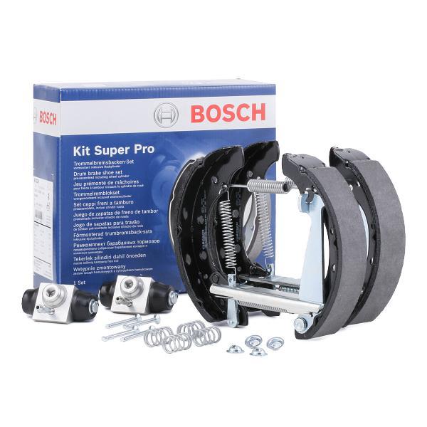 Kit frenos, disco de tambor BOSCH 0204114690 conocimiento experto