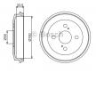 OEM Bremstrommel BOSCH DB381 für DAIHATSU