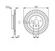 OEM Спирачен диск 0 986 479 C95 от BOSCH за MINI