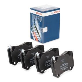 Bremsbelagsatz, Scheibenbremse Breite: 109,9mm, Höhe: 69,2mm, Dicke/Stärke: 15,3mm mit OEM-Nummer 68003 610AA