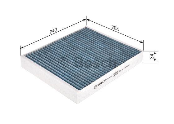 Filtro de aire acondicionado BOSCH 0986628512 conocimiento experto