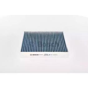 Filter, Innenraumluft Länge: 240mm, Breite: 204mm, Höhe: 34mm mit OEM-Nummer 52420930
