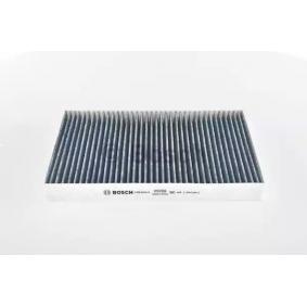 Filter, Innenraumluft Länge: 300mm, Breite: 204mm, Höhe: 30mm mit OEM-Nummer 8E0819439C