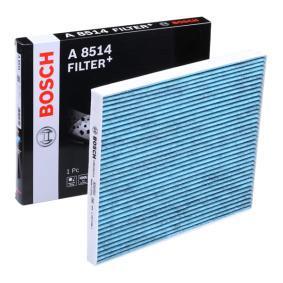 Filter, Innenraumluft Länge: 218mm, Breite: 264mm, Höhe: 20mm mit OEM-Nummer 7 175 4151