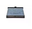 Klimafilter BOSCH A8527 FILTER+, Aktivkohlefilter, mit antiallergischer Wirkung, mit antibakterieller Wirkung, Feinstaubfilter (PM 2.5)