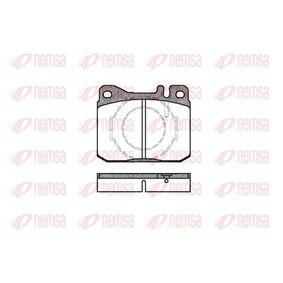 Bremsbelagsatz, Scheibenbremse Höhe: 73,8mm, Dicke/Stärke: 17,5mm mit OEM-Nummer A 001 420 75 20