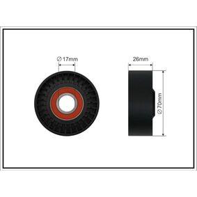 CAFFARO  01-89 Spannrolle, Keilrippenriemen Breite: 26mm