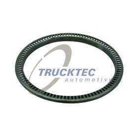 TRUCKTEC AUTOMOTIVE Drehzahlfühler Hinterachse, Vorderachse, Ø: 188mm