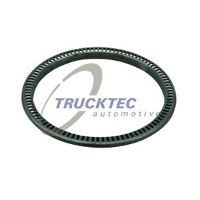 TRUCKTEC AUTOMOTIVE Abs sensor Achteras, Vooras, Ø: 188mm
