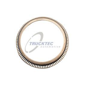 TRUCKTEC AUTOMOTIVE Abs sensor Achteras, Ø: 196mm