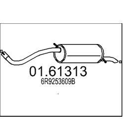 Endschalldämpfer Länge: 1305mm mit OEM-Nummer 6R9253609B
