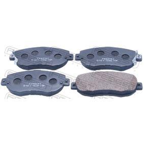 Bremsbelagsatz, Scheibenbremse Breite: 144,2mm, Höhe: 63,6mm, Dicke/Stärke: 16,6mm mit OEM-Nummer 04465-22311