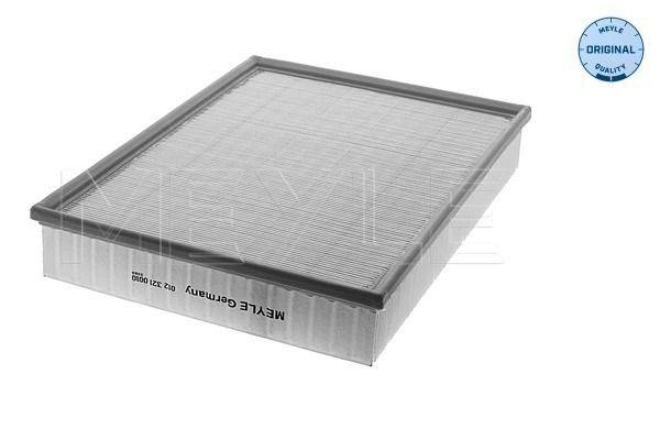 MEYLE  012 321 0010 Luftfilter Länge: 355mm, Breite: 265mm, Höhe: 57mm, Länge: 355mm
