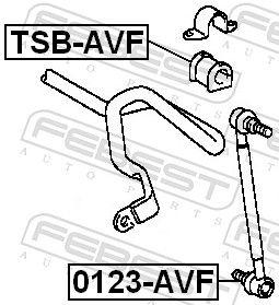 Barra estabilizadora FEBEST 0123-AVF evaluación