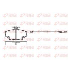 Bremsbelagsatz, Scheibenbremse Höhe: 64,8mm, Dicke/Stärke: 18mm mit OEM-Nummer 6000 008 126