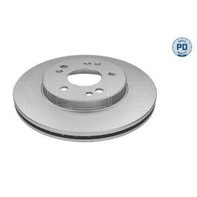 Bremsscheibe Bremsscheibendicke: 22mm, Lochanzahl: 5, Ø: 284mm mit OEM-Nummer 124.421.1612