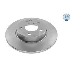 Bremsscheibe Bremsscheibendicke: 12mm, Lochanzahl: 5, Ø: 276mm mit OEM-Nummer 169 421 0012