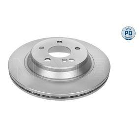 Bremsscheibe Bremsscheibendicke: 22mm, Lochanzahl: 5, Ø: 300mm mit OEM-Nummer 220 423 0212