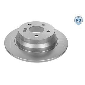 Bremsscheibe Bremsscheibendicke: 10mm, Lochanzahl: 5, Ø: 300mm mit OEM-Nummer 2114230712