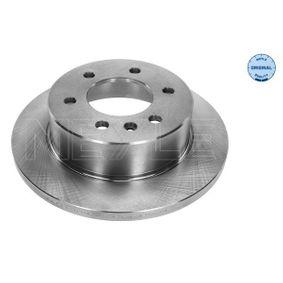Bremsscheibe Bremsscheibendicke: 16mm, Lochanzahl: 6, Ø: 298mm mit OEM-Nummer A90 642 3001 2