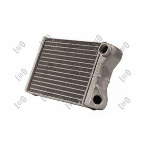 Heat Exchanger, interior heating 016-015-0010-B PUNTO (188) 1.2 16V 80 MY 2002