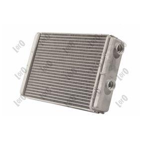 Heat Exchanger, interior heating 016-015-0011-B PUNTO (188) 1.2 16V 80 MY 2006
