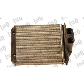 Heat Exchanger, interior heating 016-015-0013 PANDA (169) 1.2 MY 2020