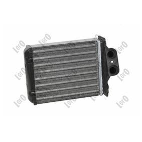 Heat Exchanger, interior heating 016-015-0013-A PANDA (169) 1.2 MY 2018
