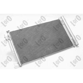 Kondensator, Klimaanlage Netzmaße: 595x331x16 mit OEM-Nummer 6 45 5GA