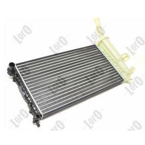 Radiator, engine cooling 016-017-0022 PUNTO (188) 1.2 16V 80 MY 2002