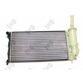 Radiator, engine cooling 016-017-0026 PUNTO (188) 1.2 16V 80 MY 2004