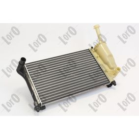 Radiator, engine cooling 016-017-0061 PANDA (169) 1.2 MY 2009
