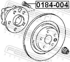 Wheel Stud FEBEST 0184-004 rating