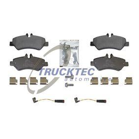Bremsbelagsatz, Scheibenbremse Breite: 136,9mm, Höhe: 63,1mm, Dicke/Stärke: 19,8mm mit OEM-Nummer A004-420-6920