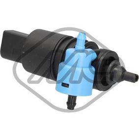 Metalcaucho  02059 Waschwasserpumpe, Scheibenreinigung Spannung: 12V, Anschlussanzahl: 2