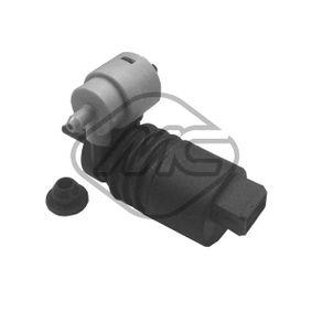 Waschwasserpumpe, Scheibenreinigung Spannung: 12V, Anschlussanzahl: 2 mit OEM-Nummer 7 222 079