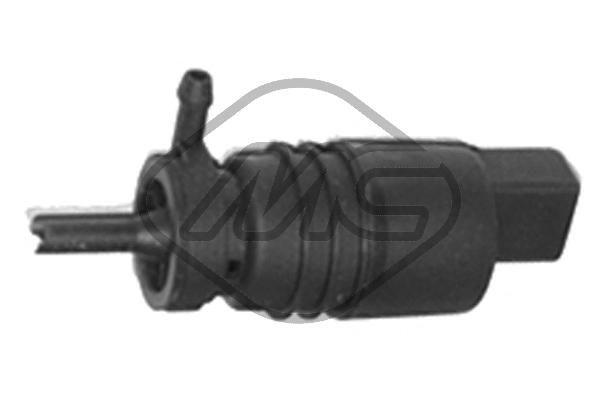 Metalcaucho  02062 Waschwasserpumpe, Scheibenreinigung Spannung: 12V, Anschlussanzahl: 2