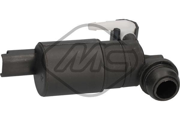 Metalcaucho  02063 Water Pump, window cleaning Voltage: 12V, Number of connectors: 2