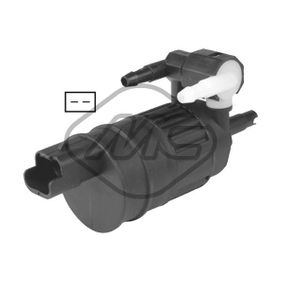 Metalcaucho  02065 Waschwasserpumpe, Scheibenreinigung Spannung: 12V, Anschlussanzahl: 2