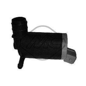 Metalcaucho  02068 Waschwasserpumpe, Scheibenreinigung Spannung: 12V, Anschlussanzahl: 2