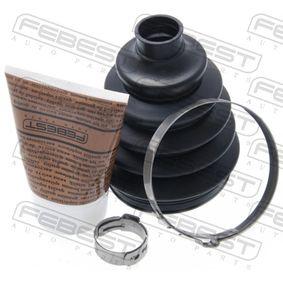 Faltenbalg, Antriebswelle Innendurchmesser 2: 78mm, Innendurchmesser 2: 78mm mit OEM-Nummer 04438 0D020